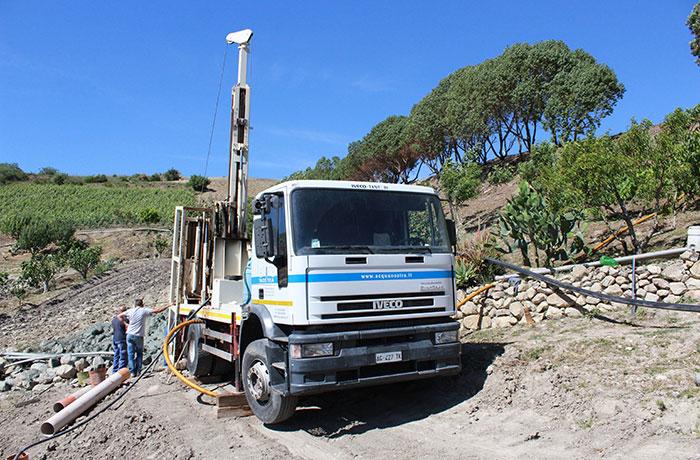 Pozzi per acqua ad uso pubblico Sardegna