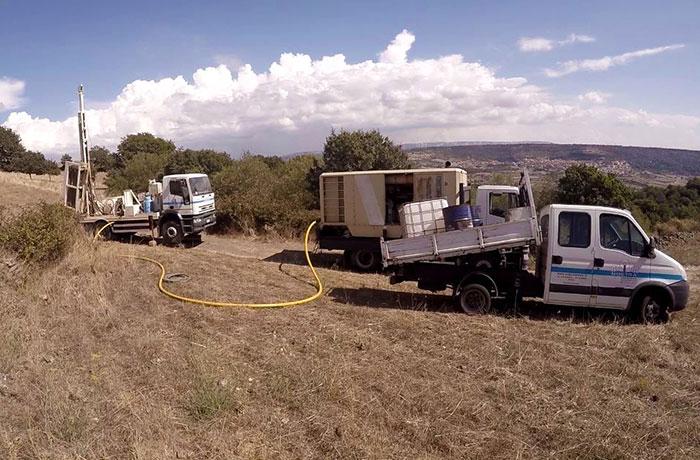 Pozzi d'Acqua per Industrie, Allevamento e Agricoltura Sardegna