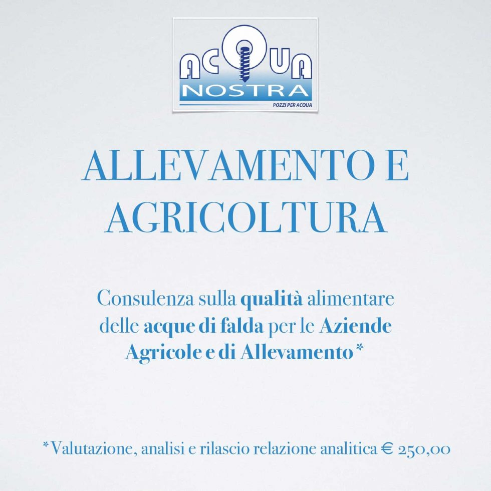 Breeding and Agriculture - Acquanostra di Achenza Roberto