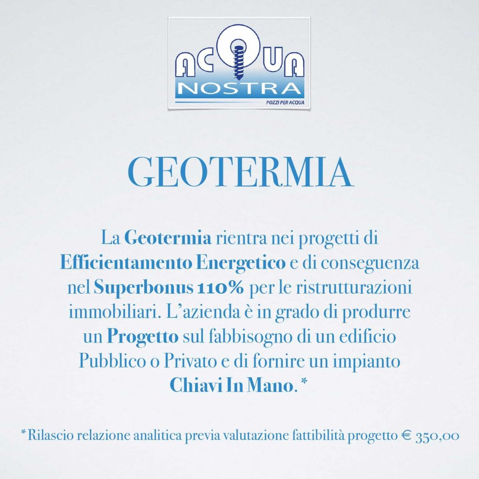 Geothermal - Acquanostra by Achenza Roberto